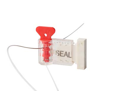 Twist tite plastic meter seal